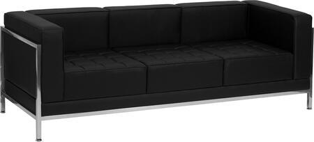 Flash Furniture ZBIMAGSOFAGG HERCULES Imagination Series Stationary Bonded Leather Sofa