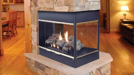 Majestic BVSTNSC Prodigy Series Wall Mountable B-Vent Natural Gas Fireplace