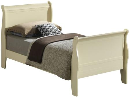 Glory Furniture G3175ATB  Twin Size Sleigh Bed