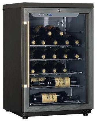 "Haier HW24WF10NG 19.94"" Freestanding Wine Cooler, in Grey"