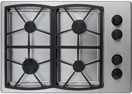 Dacor SGM304SH Classic Series Natural Gas Sealed Burner Style Cooktop, in Stainless Steel