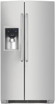 Electrolux EW23SS65HS  Side by Side Refrigerator with 22.5 cu. ft. Capacity in Stainless Steel
