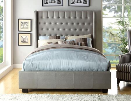 Furniture of America CM7055QBED Mira II Series  Queen Size Bed