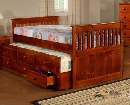 Donco 103FE  Full Size Captains Bed