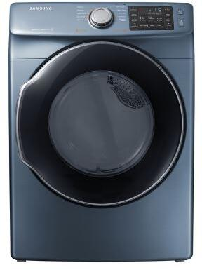 "Samsung Appliance DVG45M5500x 27"" Front-Load Gas Dryer With 7.5 cu. ft. Capacity DOE, Energy Star Certified, Multi-Steam Technology, Vent Sensor, Sensor Dry, 4 Temperature Settings, Smart Care, Interior Drum Light, in"