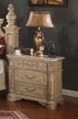 Meridian SIENNANS Sienna Series Rectangular Wood Night Stand