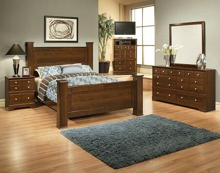 Sandberg 338H Kendra Queen Bedroom Sets