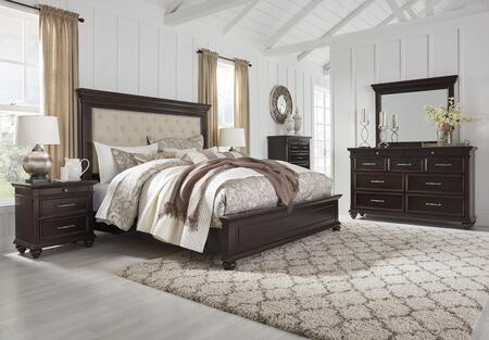Signature Design by Ashley Brynhurst 5 Piece King Size Bedroom Set