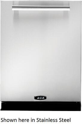 AGA APRODWCRN PRO Plus Series Built-In Fully Integrated Dishwasher with in Red