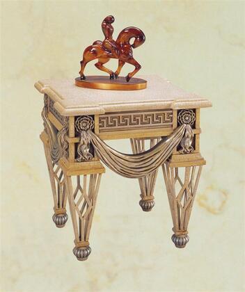 Yuan Tai VA4534E Valentine Series Traditional  End Table