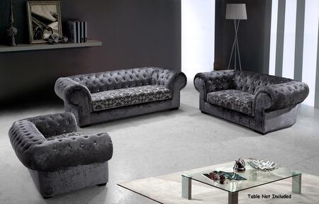 VIG Furniture VG2T06693 Modern Fabric Living Room Set