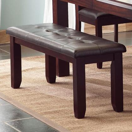 Coaster 102943 Dining Armless Wood Vinyl Bench