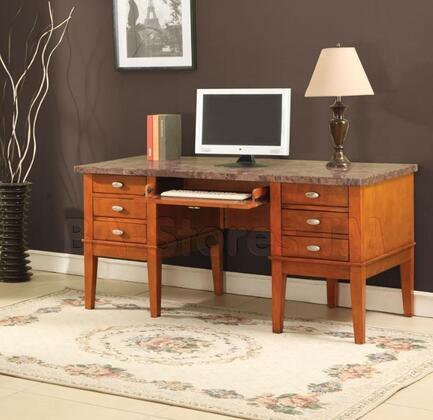 Acme Furniture 92000 Bologna Series Desk  Wood Desk
