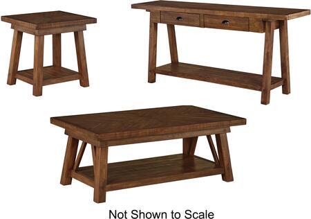 Milo Italia TA638CTSTET Leandro Living Room Table Sets