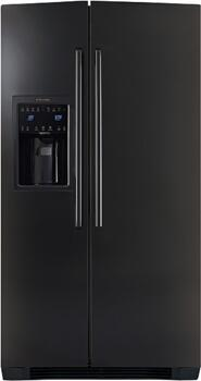 Electrolux EW23SS65HB  Side by Side Refrigerator with 22.5 cu. ft. Capacity in Black
