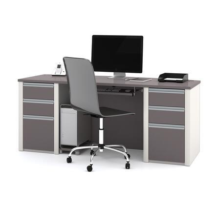 Bestar Furniture 93850 Connexion Executive desk