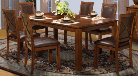 New Classic Home Furnishings 4011610CC Aspen Dining Room Set