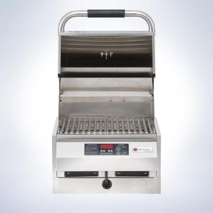 "Electri Chef 4400ec224x16 4400 Series 16"" Built-In Grill With 18 Gauge Stainless Steel Construction, Digital Controls, Automatic Shut-off, Easy Drip Trays, in Stainless Steel"