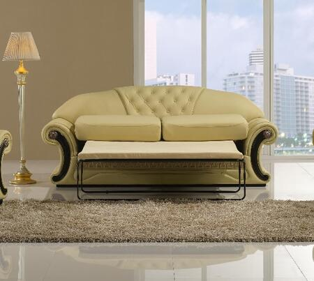 VIG Furniture T36 Cleopatra Series Pull-Out Leather Sofa