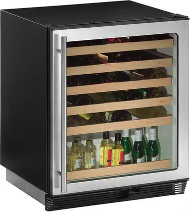 "U-Line 1075WCS15 23.94"" Built-In Wine Cooler, in Stainless Steel"