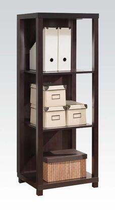 Acme Furniture 92064 Carmeno Series Wood 3 Shelves Bookcase