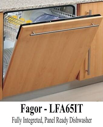 "Fagor LFA65IT 24"" Built In Fully Integrated Dishwasher"