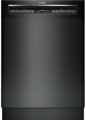 "Bosch SHE878WDXN 24"" 800 Series Built-In Recessed Handle Full Console Dishwasher with 16 Place Settings, 6 Cycles, 6 Options, 42 dBA Noise Level, Flexible 3rd Rack, RackMatic, and Aquastop, in"
