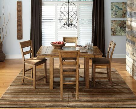 Signature Design by Ashley D653CT4BS Krinden Dining Room Set