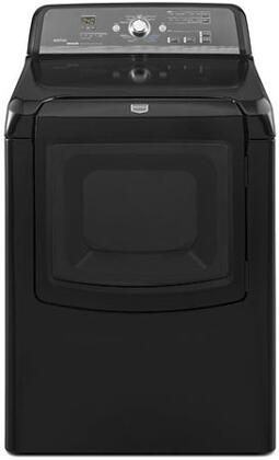 Maytag MEDB800VB Bravos Series Electric Dryer, in Black
