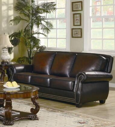 Coaster 502991 COBY Series  Leather Sofa