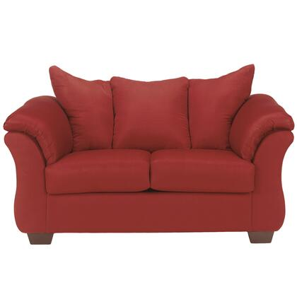 Red Darcy Love Seat