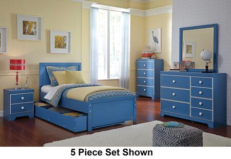 Signature Design by Ashley B045SET4PCTS Bronilly Twin Bedroo