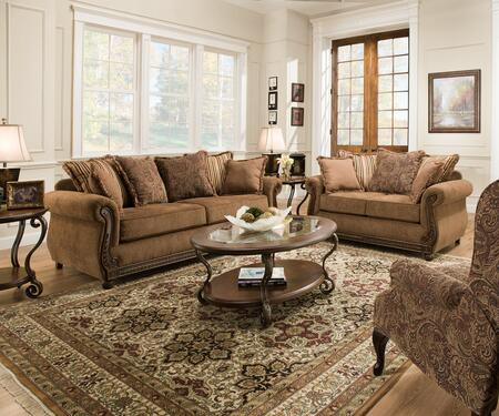 Simmons Upholstery 81150203 Outback Living Room Sets   Appliances ...