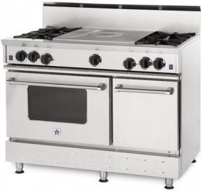 BlueStar RNB484FTBSSNG RNB Series Gas Freestanding