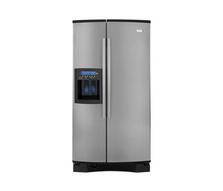 Whirlpool GS6NHAXVS Gold Series Side by Side Refrigerator with 25.6 cu. ft. Capacity in Stainless Steel