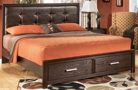 Signature Design by Ashley B16556S5895B10014 Aleydis Series  King Size Panel Bed