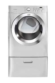 Frigidaire FAQG7073KA Affinity Series Gas Dryer, in Silver