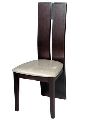 VIG Furniture VGGUJK414SCHWNG Modrest Waves Series Modern Wood Frame Dining Room Chair