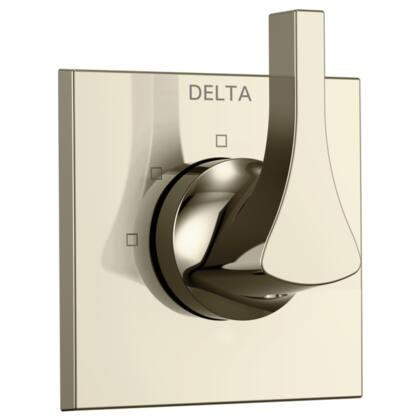 Zura T11874-PN Delta Zura: 3-Setting Diverter Trim in Polished Nickel