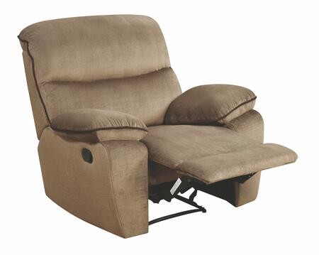 """Glory Furniture G520 Collection 42"""" Rocker Recliner with Split Back Cushion, Pillow Top Arms and Micro Suede Upholstery"""