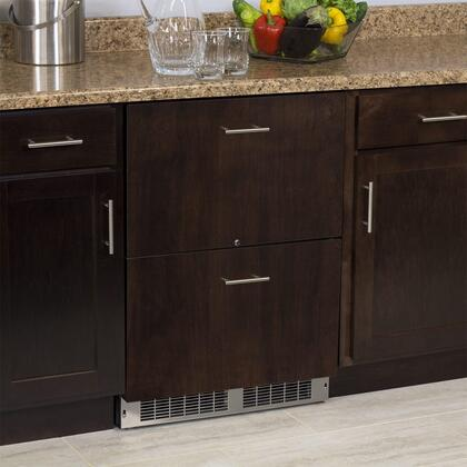 """Marvel MP24RDT 24"""" Marvel Professional Refrigerated Drawers:"""