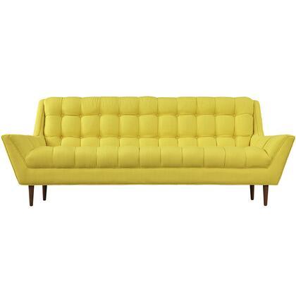 Modway EEI1788SUN Response Series Stationary Fabric Sofa