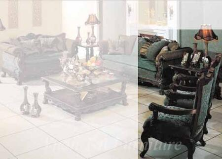 Yuan Tai RN5500C Ranburne Series Fabric Chair with Wood Frame