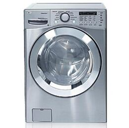 LG WM2901HVA  3.87 cu.ft Front Load Washer, in Stainless Steel