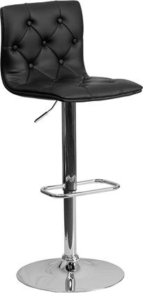 Flash Furniture CH112080BKGG Residential Vinyl Upholstered Bar Stool