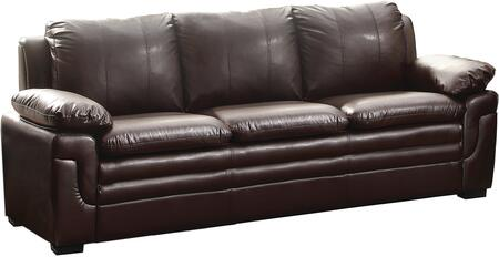 Glory Furniture G285S  Stationary Faux Leather Sofa