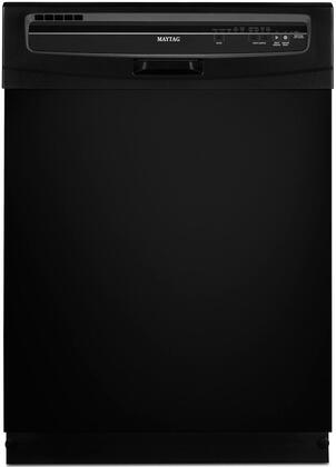 Maytag MDB4409PAB JetClean Plus Series Black Built-In Full Console Dishwasher with