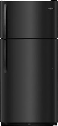 """Frigidaire FFTR1814Tx 30"""" Top Freezer Refrigerator with 18 cu. ft. Total Capacity, 2 Full Width Wire Refrigerator Shelves, 1 Full Width Wire Freezer Shelf, and 2 Full-Width White Freezer Door Racks, in"""