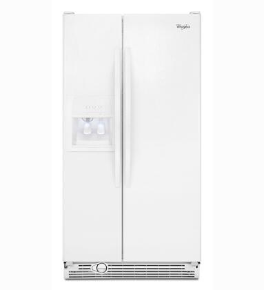 Whirlpool ED2FHEXVQ Freestanding Side by Side Refrigerator  Appliances Connection