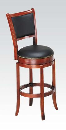 Acme Furniture 07196 Chelsea Series Residential Faux Leather Upholstered Bar Stool